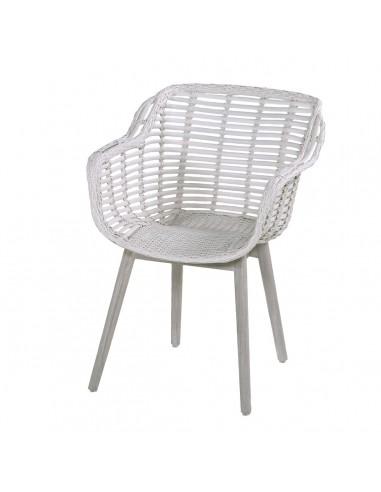Cecilia Dining Chair Aluminium Frame