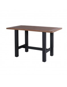 Sophie Yasmani Bar Table Carbon Black 180 x 100