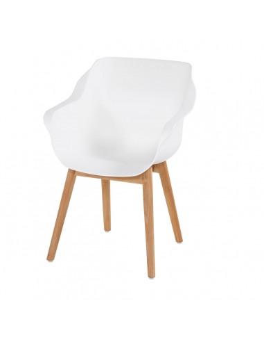 Sophie Studio Wood Armchair Royal White