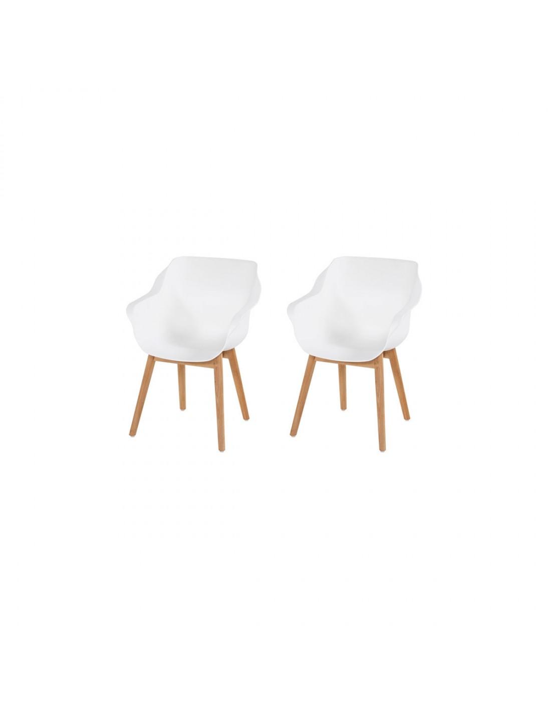 Gebruikte Hartman Stoelen.Hartman Sophie Studio Wood Armchair Set Van 2 Tuinmeubelman