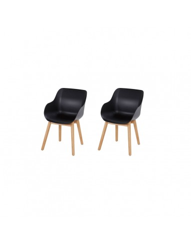 Hartman Sophie Organic Wood Studio Chair Set van 2