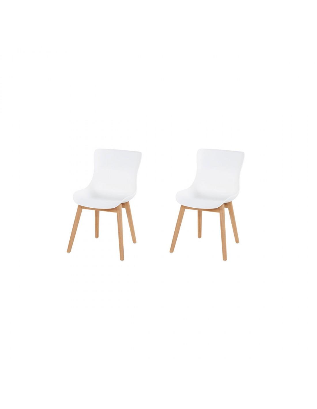 Gebruikte Hartman Stoelen.Hartman Sophie Wood Dining Chair Set Van 2 Tuinmeubelman